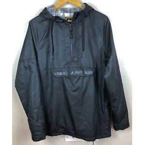 Under Armour UA Storm Black Anorak Jacket Medium